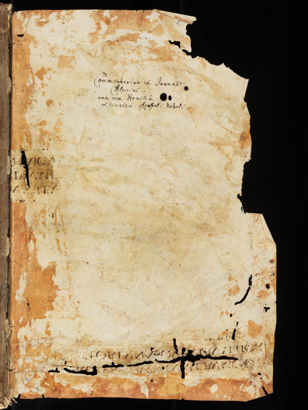 Cod. Sang. 275, p. 1