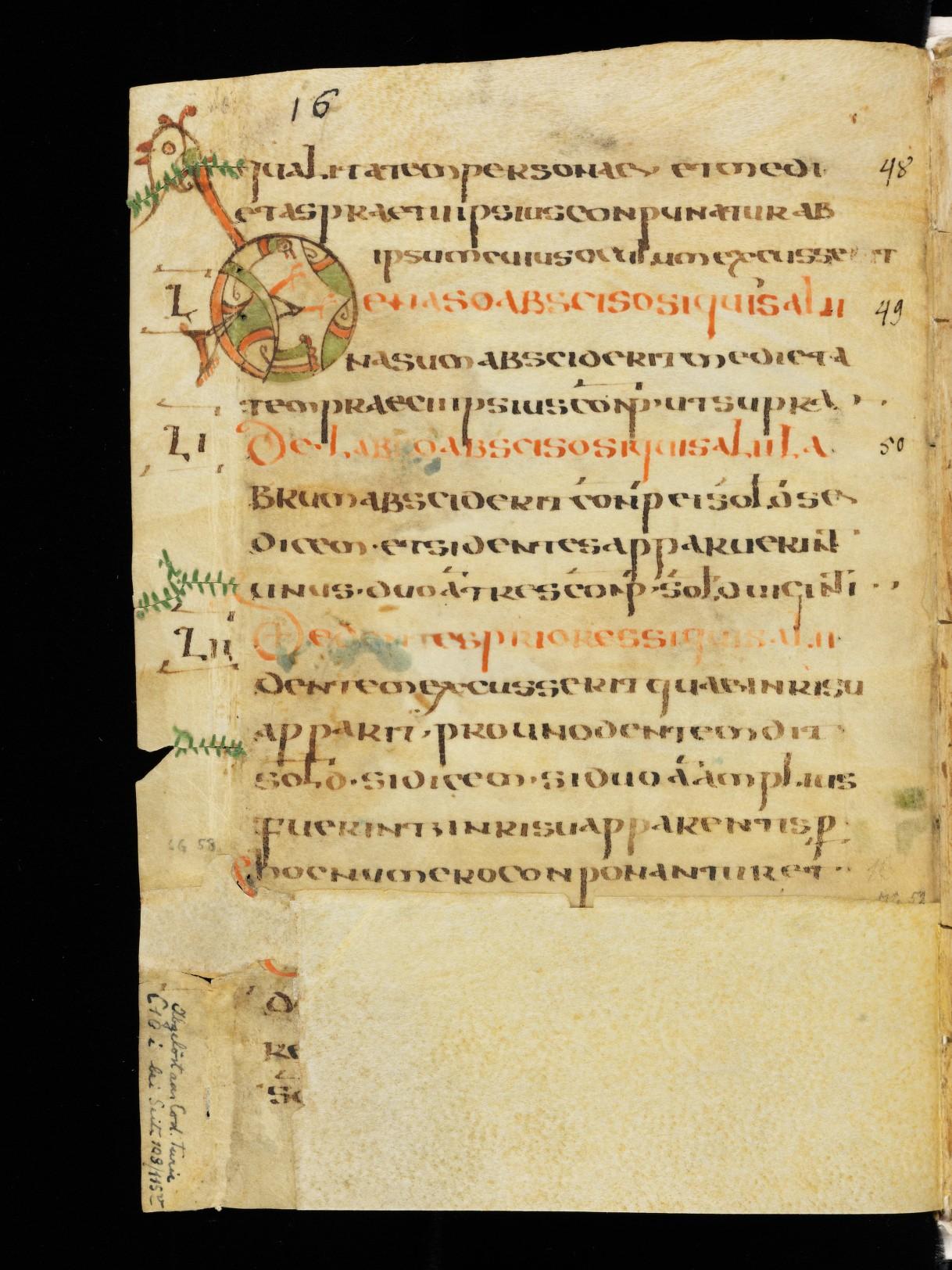 Cod. Sang. 730, p. 16