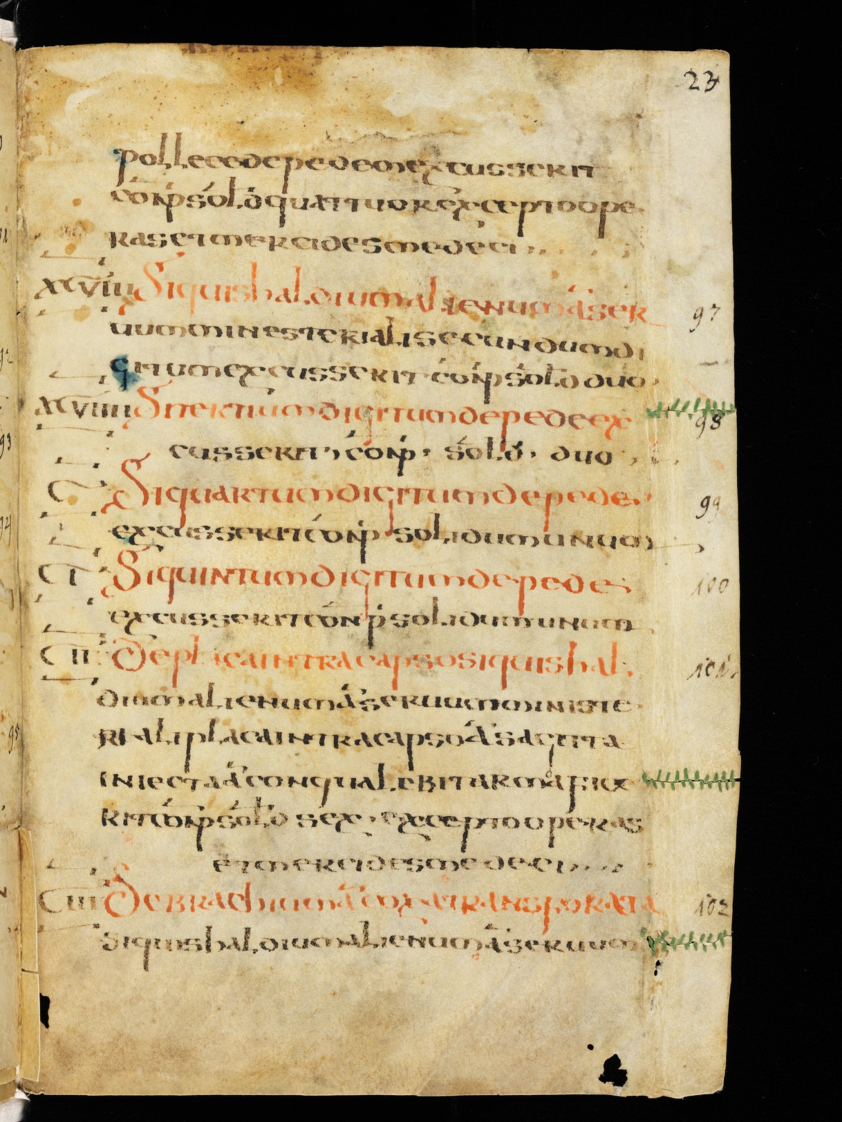 Cod. Sang. 730, p. 23