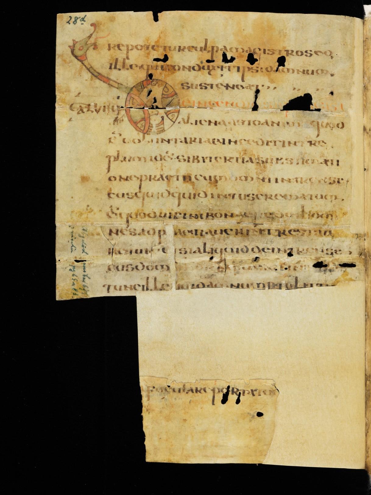 Cod. Sang. 730, p. 28d
