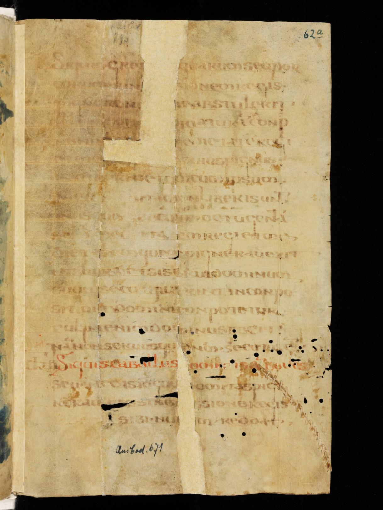 Cod. Sang. 730, p. 62a