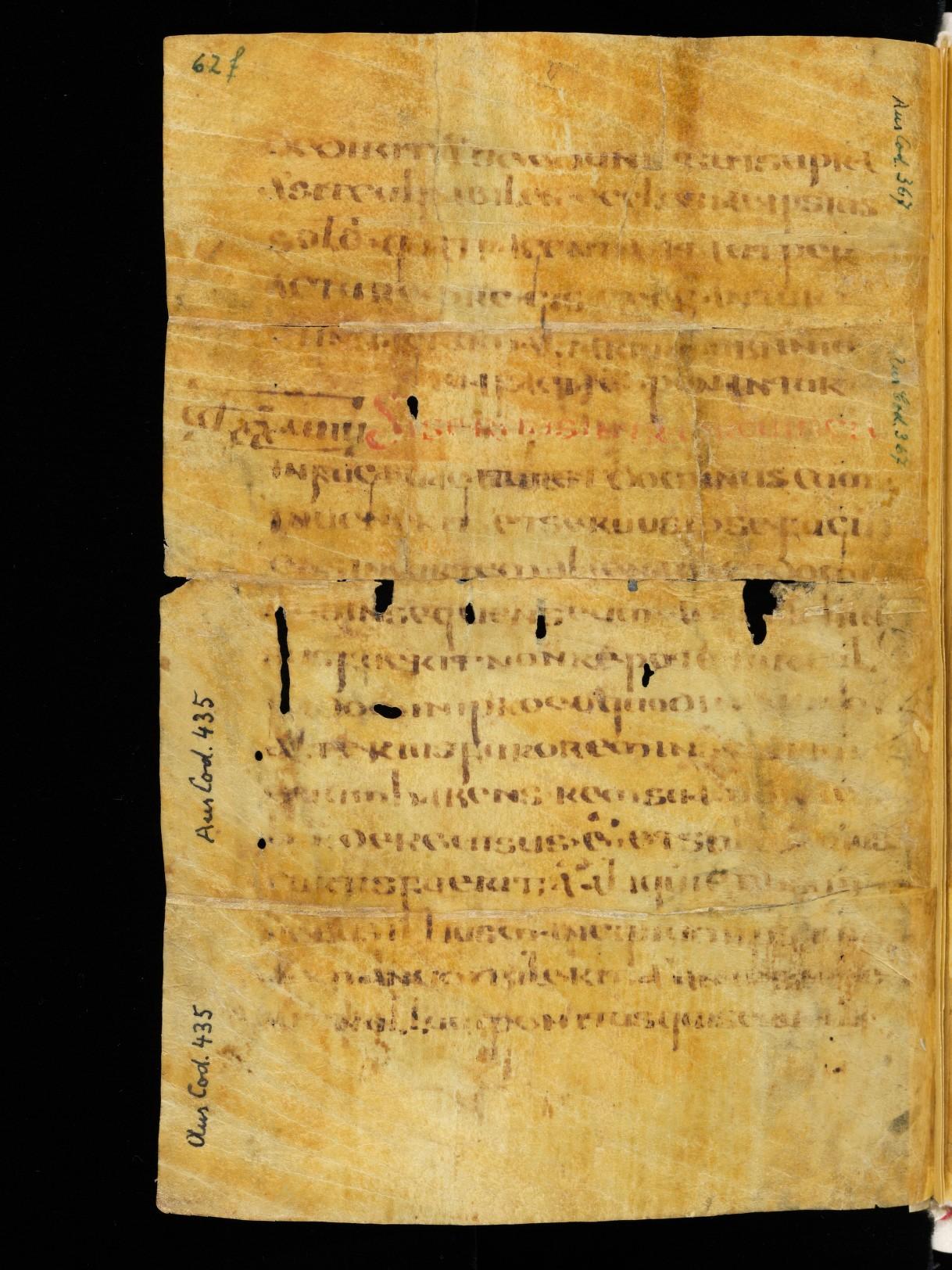 Cod. Sang. 730, p. 62f