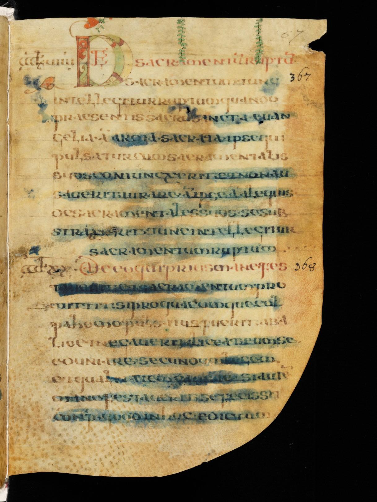 Cod. Sang. 730, p. 67